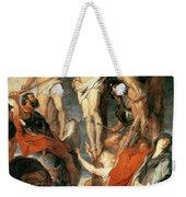 Christ Between The Two Thieves Weekender Tote Bag