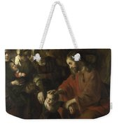 Christ Blessing The Children Weekender Tote Bag