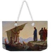 Christ Calling The Apostles James And John Weekender Tote Bag