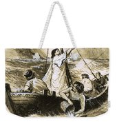 Christ Calming The Storm Weekender Tote Bag