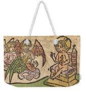 Christ Child With Three Angels Weekender Tote Bag
