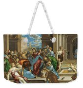 Christ Cleansing The Temple Weekender Tote Bag