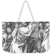 Christ Driving The Merchants From The Temple 1511 Weekender Tote Bag