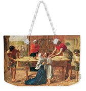 Christ In The House Of His Parents Weekender Tote Bag