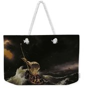 Christ In The Storm On The Sea Of Galilee Weekender Tote Bag