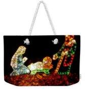 Christ Is Christmas Weekender Tote Bag