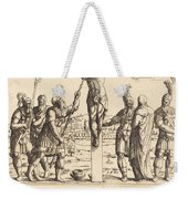 Christ Is Given Vinegar To Drink Weekender Tote Bag