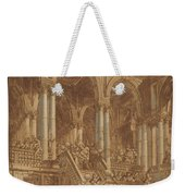 Christ Led Captive From A Palace Weekender Tote Bag