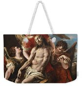 Christ Mourned By Three Angels Weekender Tote Bag