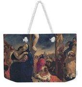 Christ On The Cross Weekender Tote Bag by Delacroix