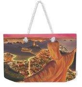 Christ Over Rio Weekender Tote Bag