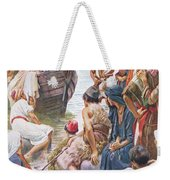 Christ Preaching From The Boat Weekender Tote Bag