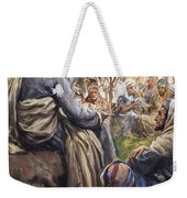 Christ Teaching Weekender Tote Bag by English School
