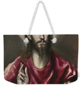 Christ The Saviour Weekender Tote Bag