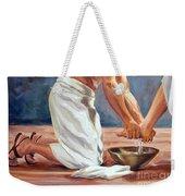 Christ The Servant Weekender Tote Bag