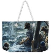 Christ Walking On The Sea Of Galilee Weekender Tote Bag