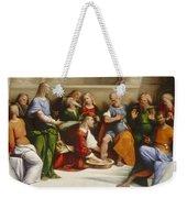 Christ Washing The Disciples' Feet Weekender Tote Bag