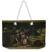 Christ Washing The Feet Of The Disciples Weekender Tote Bag