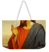 Christ Weeping Over Jerusalem Weekender Tote Bag