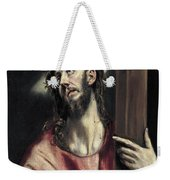 Christ With The Cross Weekender Tote Bag