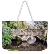 Christchurch - Bridge Over The Millstream Weekender Tote Bag