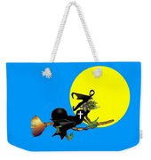 Christian Flying Witch Weekender Tote Bag
