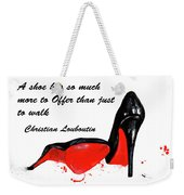 Christian Louboutin Shoes 4 Weekender Tote Bag
