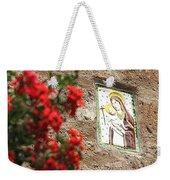 Christian Plaque Weekender Tote Bag