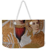 Christianity - Mary And Jesus Weekender Tote Bag