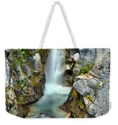 Christine Falls In The Canyon Weekender Tote Bag
