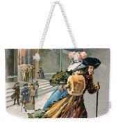 Christmas, 1890 Weekender Tote Bag