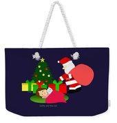 Christmas #2 No Text Weekender Tote Bag