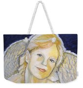 Christmas Angel   Finished Weekender Tote Bag