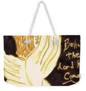 Christmas Angel Weekender Tote Bag