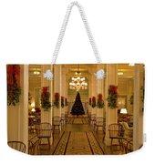 Christmas At The Mount Washington Hotel Weekender Tote Bag