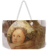 Christmas Ball , Angels Weekender Tote Bag