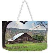 Christmas Barn Weekender Tote Bag