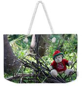 Christmas Bear Weekender Tote Bag