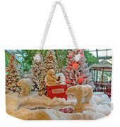 Christmas Bears Weekender Tote Bag