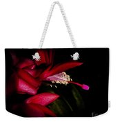 Christmas Beauty Weekender Tote Bag