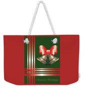 Christmas Bells 2 Weekender Tote Bag