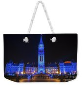 Christmas Blues.. Weekender Tote Bag
