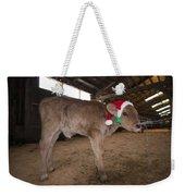 Christmas Calve Of Honor Weekender Tote Bag