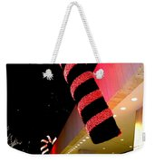 Christmas Candy Canes Weekender Tote Bag