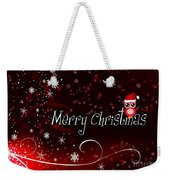 Christmas Card 3 Weekender Tote Bag
