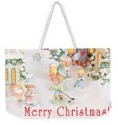 Christmas Card 5 Weekender Tote Bag