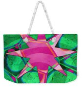 Christmas Celebration Abstract Painting Weekender Tote Bag