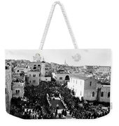 Christmas Celebration In 1901s Weekender Tote Bag