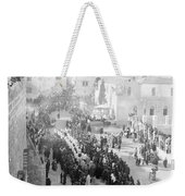Christmas Celebration Weekender Tote Bag