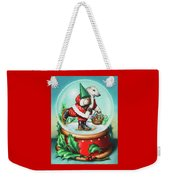 Christmas Cheer Weekender Tote Bag
